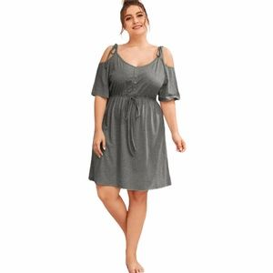 Other - Plus Size Cold Shoulder Nightgown
